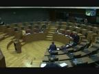 La Mesa y Junta se reúne en el salón de plenos del Parlamento