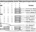 El puzzle que propone Javier Tebas