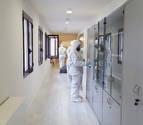 La UME se desplaza a Pamplona para realizar labores de desinfección
