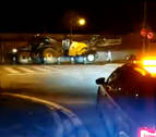 Desinfectadas esta pasada noche con tractores las calles de Tudela