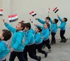 Diario de Navarra viaja a Siria en el noveno año de guerra | Alepo, azul esperanza