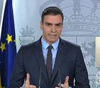 Sánchez pide unidad a las fuerzas políticas: &quotVamos a trabajar en unos nuevos Pactos de la Moncloa