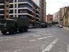 El Ejército refuerza la vigilancia en Tudela