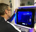 Voluntarios navarros fabrican máscaras para personal sanitario con impresoras 3D