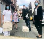 Mascarillas listas para las residencias de ancianos y los centros de salud