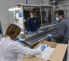 Mecacontrol Cascante prevé fabricar 3.300 pantallas de protección al día