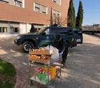 Donan alimentos a las Hermanitas de los Pobres y el Colegio de Enfermería recauda 25.000€