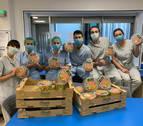 Florette dona ensaladas y material sanitario a hospitales y bancos de alimentos