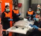 Mecacontrol de Cascante entrega sus primeras 8.000 pantallas protectoras