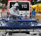 Once nuevos fallecidos por coronavirus elevan a 113 las víctimas en Navarra