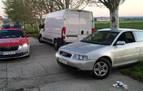 Cinco denuncias y sanción de 2.900 euros para un conductor en Santacara