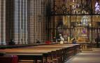 Las misas y oficios de Semana Santa en Pamplona, on-line o por televisión