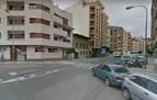 Trasladado al hospital tras un accidente de tráfico en Tudela