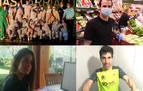 Cecilia Liñeira, María Loizu, Imanol Arellano y Gabriel Uriarte, deportistas esenciales