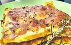 Clásica lasaña con boloñesa