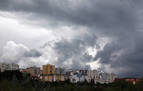Una tormenta deja 14 litros en Goizueta en apenas diez minutos