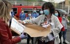 El Colegio de Enfermería ha repartido 150.000 dispositivos 'non touch' y 23.000 pantallas