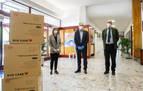Volkswagen Navarra dona 6.000 mascarillas a la Casa de Misericordia de Pamplona