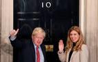 Boris Johnson y Carrie Symonds anuncian el nacimiento de su hijo