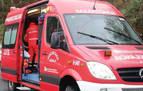 Sanitarios y bomberos atienden un parto en un coche en el polígono de Mutilva