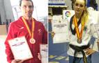 Participación navarra en un campeonato online de taekwondo