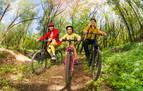 5 senderos en Navarra para iniciar a los más pequeños en la bici de montaña