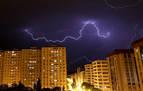 Domingo inestable en Navarra con chubascos y tormentas