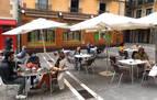 Las terrazas abren este jueves 26 con cuatro personas máximo por mesa
