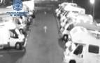 Detenido un joven en Burlada acusado de dañar 17 vehículos estacionados