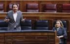 Iglesias dice que lo acordado con el PSOE implica derogar la reforma laboral