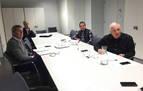 Primera reunión de la mesa para la desescalada del deporte en Navarra