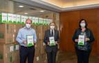 Entregadas las primeras 146.000 mascarillas a pymes navarras