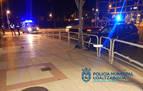 Denunciado en Pamplona tras chocar contra una valla y dar positivo en alcohol