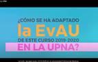 La UPNA realiza un vídeo explicativo de los cambios en la EvAU
