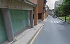 Herida leve al ser atropellada en un paso de peatones en Tafalla