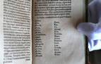 Hallan en Italia un libro impreso en 1610 con cien palabras en euskera