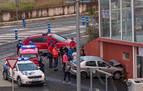Fallece un hombre de 55 años tras chocar su coche con un muro en Ayegui