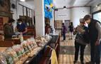 Se celebra la tercera edición del EKOmercado de Pamplona