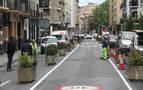 El ayuntamiento corrige y deja libre circulación en la calle Amaya