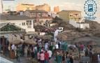Desalojan un chiringuito que celebraba una fiesta con 300 personas