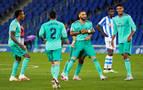 El Real Madrid recupera el liderato tras ganar sin brillo en el Reale Arena