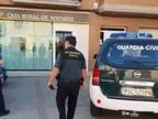 Un atracador se lleva miles de euros de una sucursal en Buñuel