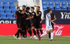 La seriedad del Sevilla prolonga la agonía de un Leganés en caída libre