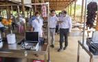 Chivite muestra su apoyo al turismo en su visita a Sendaviva