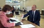 Un 77,9 % de apoyo a las reformas para mantener a Putin en el poder hasta 2036