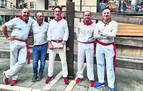 Una docena de corredores navarros emularán el encierro en Salamanca