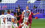 Un tanto de Joaquín en la recta final deja al Valladolid con pie y medio en Primera