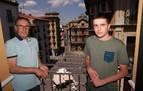 Los balcones de los hermanos Zabalza Casla