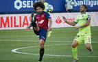 Puntuación de los jugadores de Osasuna contra el Getafe