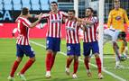 Un gol de Morata sostiene al Atlético en Vigo